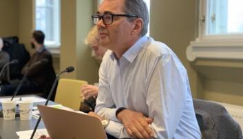 Svein Richard Brandtzæg er styreleiar ved NTNU. Han vil ikkje seia kor mange som skal til rektorintervju. Foto: Ragnhild Vartdal