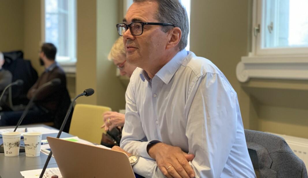 — For meg var et viktig argument for fusjon at NTNU fikk et tettere forhold til næringslivet i Gjøvik og Ålesund, ikke minst industrien og det maritime og marine miljøet der, sier Svein Richard Brandtzæg