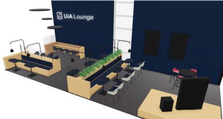 Universitetet i Agder åpner lounge på Kjevik