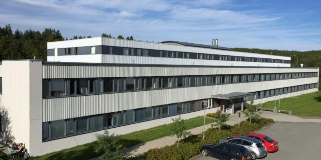 Naturfagbygget er det eldste bygget på UiTs campus i Tromsø. Nå skal det renoveres og bygges om. Foto: UiT/Bygg og Eiendom