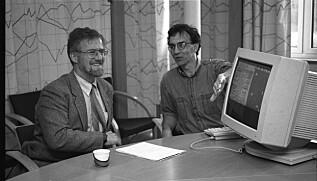 Gudmund Hernes på Universitetet i Oslo i 1995. Foto: UiO/historisk billedarkiv