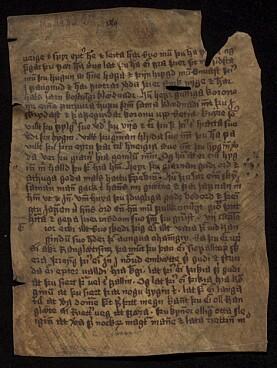 Det andre fragmentet (ubb-ms-1836-2) som Universitetsbiblioteket og Nordisk Institutt kjøpte i 1981 inneholder Gissur Einarssons islandske oversettelse av Jesu Siraks bok og kan dateres til 1500-tallet.