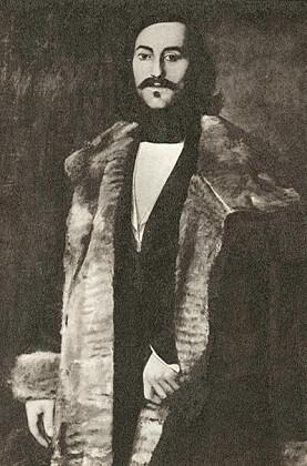 George Stephens fra oljemaleri av J.A. Wetterbergh (http://libris.kb.se/bib/364522)