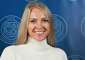 Nyvalgt leder i Norsk sykepleierforbund, Lill Sverresdatter Larsen, sier tallene er alvorlige. Foto: Kristin Henriksen