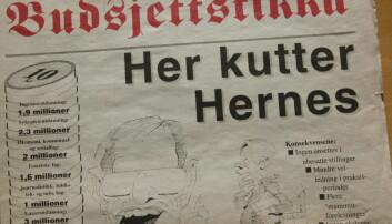 Faksimile fra protestinformasjon 1994.