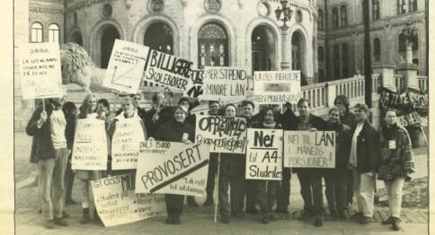Høgskolereformen 25 år: Stille før reformen, opprør etterpå