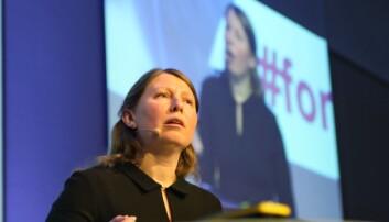 Guro Lind, leder i Forskerforbundet. Foto: Siri Øverland Eriksen
