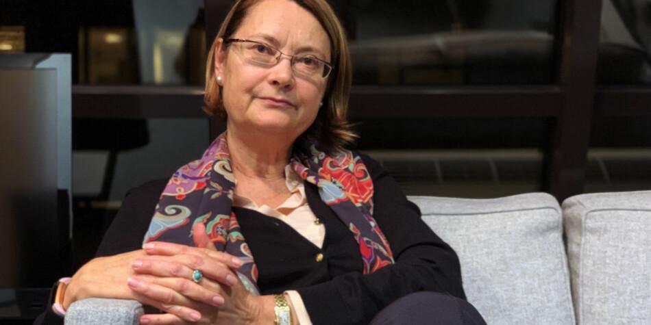 — Målet må være at det skal være en forutsigbarhet for ungdom som begynner på et studium, sier ESA-president Bente Angell-Hansen . Hun vil lese ELTE-dommen nøye. Foto: Espen Løkeland-Stai