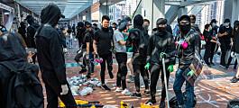 Situasjonen forverra for studentane i Hongkong