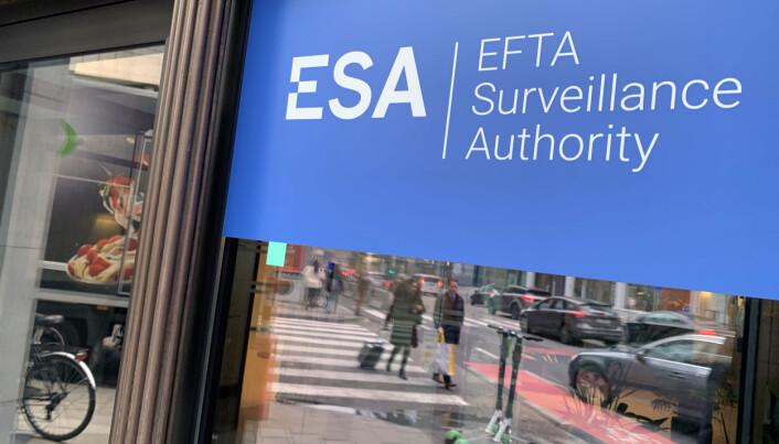 ESAs kontor i Brussel. Foto: Espen Løkeland-Stai