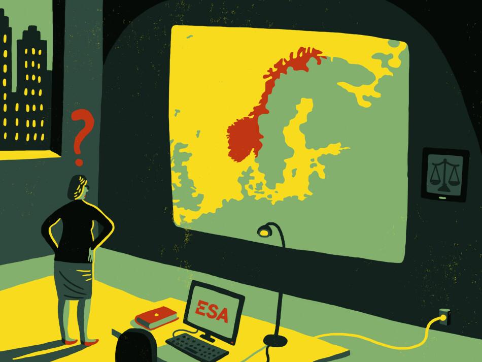Illustrasjon: Øivind Hovland