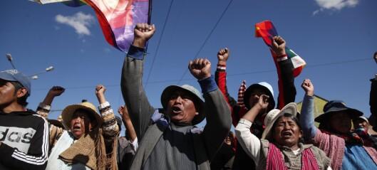 Frykter for sikkerheten: Henter norske studenter hjem fra Bolivia