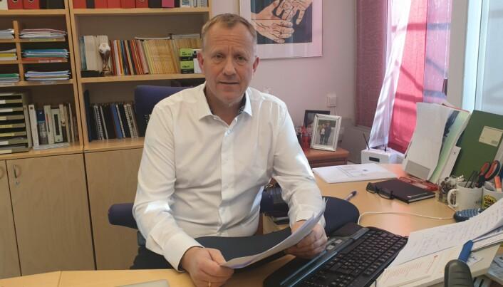 Asle Aase, leder i Norges fengsels- og friomsorgsforbund. Foto: NFF