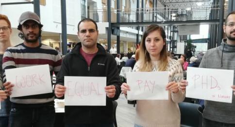Lokalt lønnsoppgjør: Bare noen har valgt å løfte stipendiatlønningene