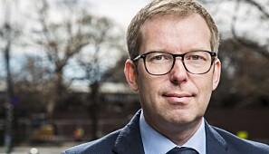Håkon Haugli er administrerende direktør i Innovasjon Norge. Foto: Esben Johansen