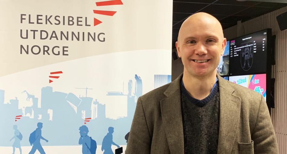 Postdoktor og forsker Halvdan Haugsbakken håper MOOC skal kunne løse mange problemstillinger når det gjelder undervisning over nettet i fremtiden, men også her og nå. Foto: Ebba Køber (FuN)