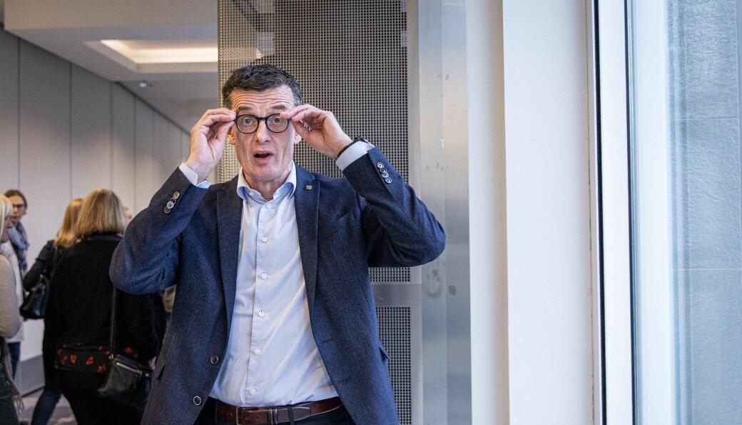 Klaus Mohn skal holde innlegg under lanseringen av Klimarealistenes nye tidsskrift. Det skaper reaksjoner.