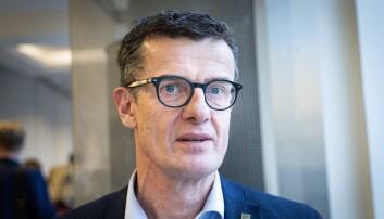 Rektor Klaus Mohn ved Universitetet i Stavanger. Foto: Siri Øverland Eriksen