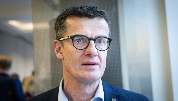 Rektor Klaus Mohn ved Universitetet i Stavanger.