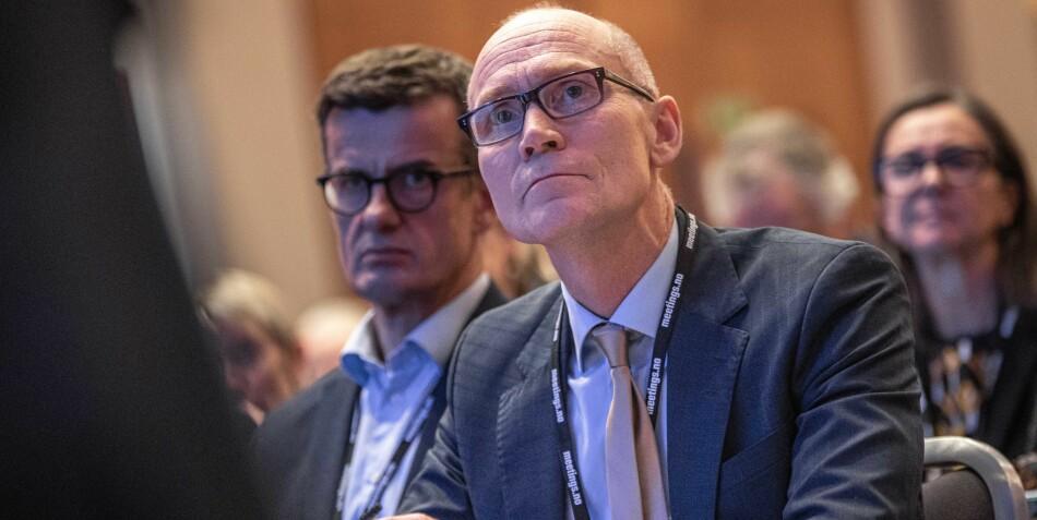 Steinar Kristoffersen, rektor ved Høgskolen i Molde, ønsker å samtale videre med Høgskulen på Vestlandet etter at samtaler med NTNU ikke førte fram. Foto: Siri Øverland Eriksen