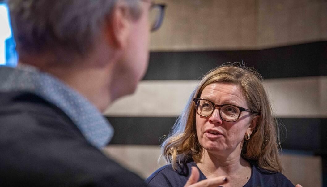 Viserektor for globale relasjoner, Annelin Eriksen, forteller at studenter Universitetet i Bergen oppretter eget krisefond for internasjonale studenter
