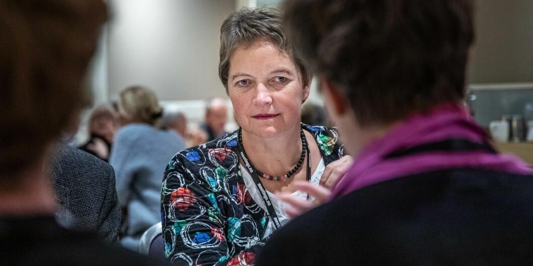 Rektor ved Nord universitet, Hanne Solheim Hansen, vil sette alle nødvendige ressurser til verks for å redde universitetets akkrediteringstruede doktogradsprogram. Foto: Siri Øverland Eriksen