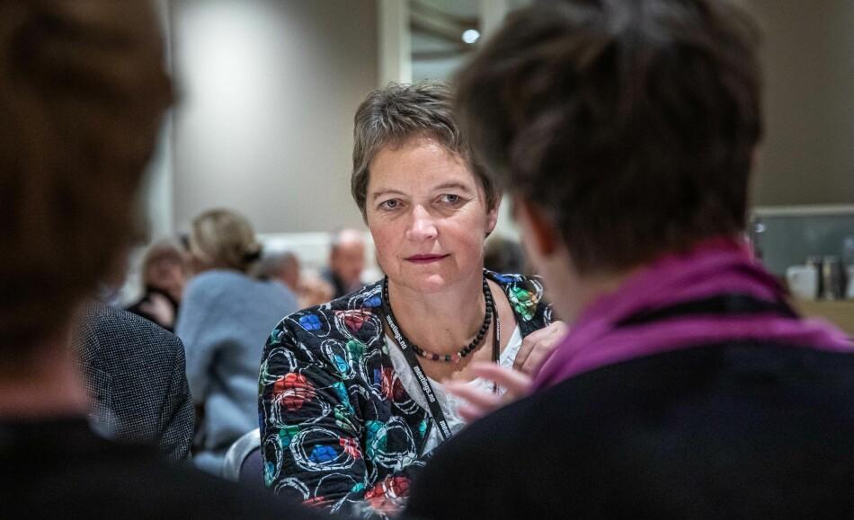 Tøffe kuttrunder venter rektor ved Nord universitet, Hanne Solheim Hansen. I løpet av to år skal lærerutdanningen nedbemannes og spare 30 millioner kroner. Foto: Siri Øverland Eriksen