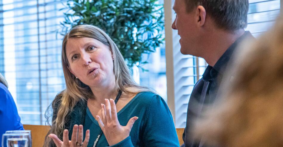 Leder Guro Elisabeth Lind i Forskerforbndet. Foto: Siri Øverland Eriksen