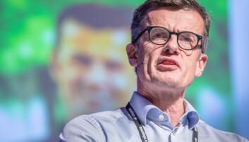 — Kontroversielt, seier rektor Klaus Mohn om forslaget til budsjett. Foto: Siri Øverland Eriksen