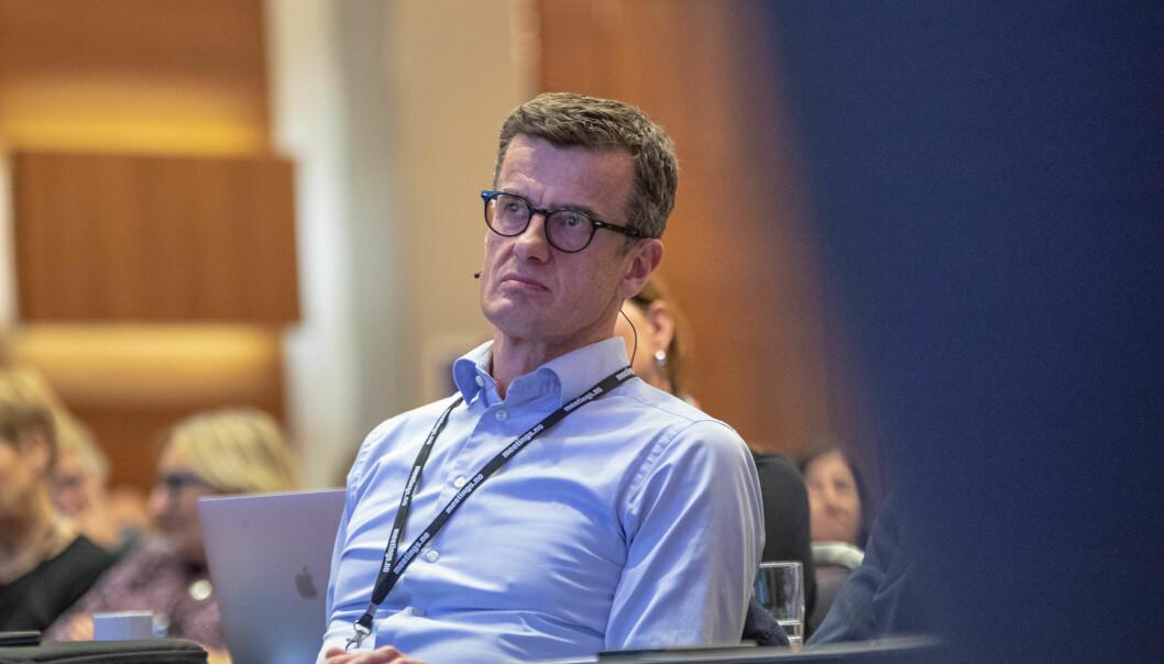 Universitetet i Stavanger-rektor Klaus Mohn sier svindelforsøket var ekstremt ubehagelig.