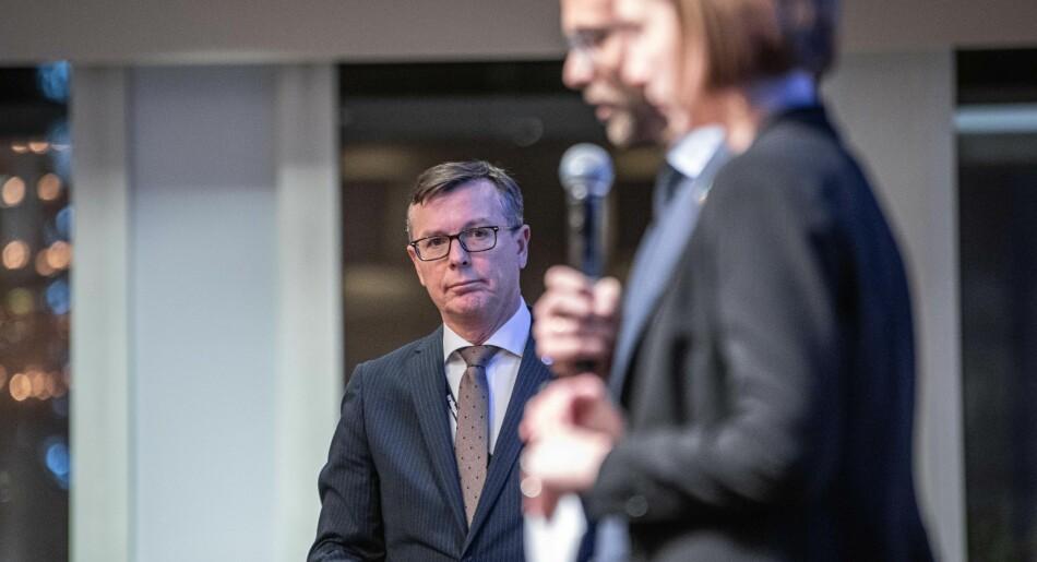 Dag Rune Olsen venter på en utredning fra Fudan-universitetet, som nylig fjernet begrepet «tankefrihet» fra dokumentene som formulerer universitetets grunnverdier. Foto: Siri Øverland Eriksen