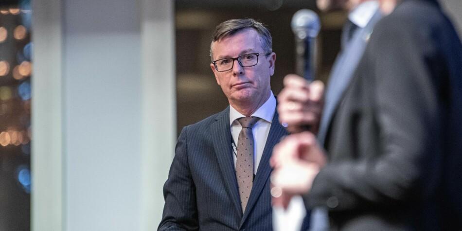 Styreleder i Universitets- og høgskolerådet og rektor ved Universitetet i Bergen, Dag Rune Olsen. Foto: Siri Øverland Eriksen