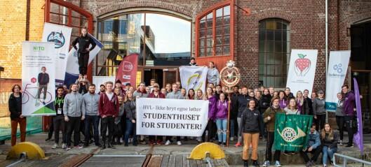 Studentleder med stikk til ledelsen: Vi har akseptert tap etter tap