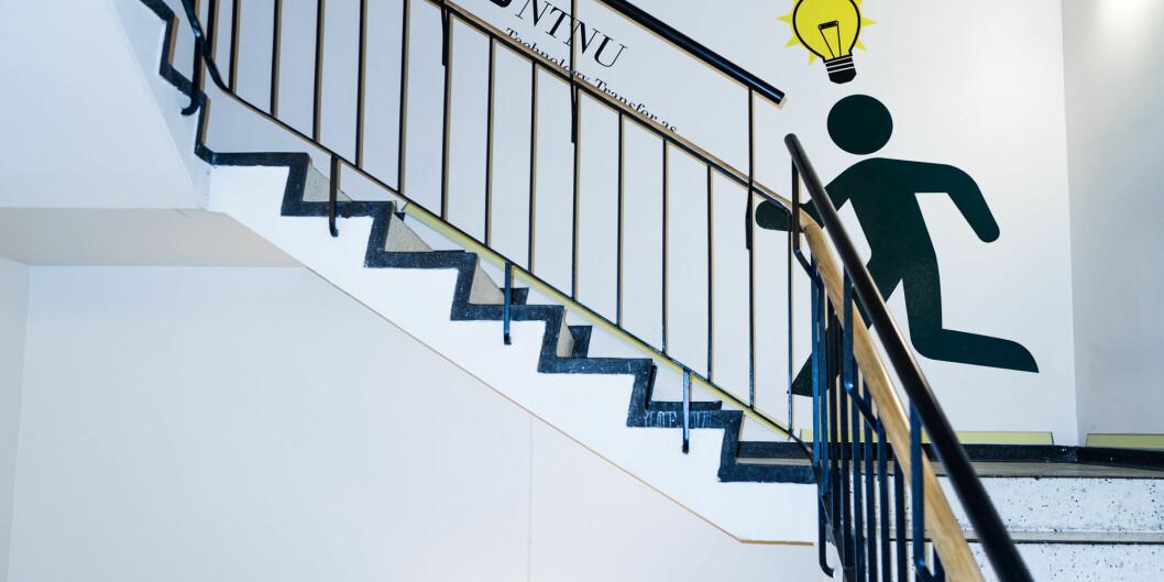 Førsteamanuensis Jan Terje Andersen mener det må bevilges mer penger til innovasjon i akademia. Foto: David Engmo
