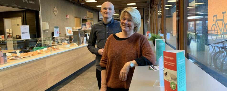 Fredrik Jensen og Marit Kjærnsli, skoleforskere på Universitetet i Oslo, og tidligere og nåværende prosjektansvarlig for Pisa. Foto: Eva Tønnessen