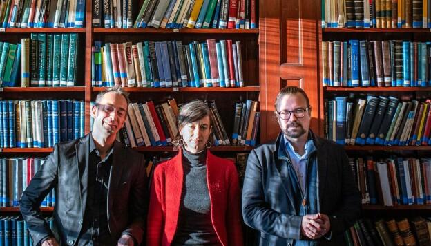 Kritiske juss-forskere: Malcolm Langford, Ingunn Ikdahl og Alf Petter Høgberg, . Foto: Siri Øverland Eriksen.