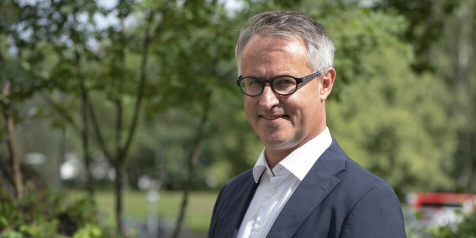 Ny rektor på VID vitenskaplige høgskole, Bård Mæland. Foto: Espen Utaker