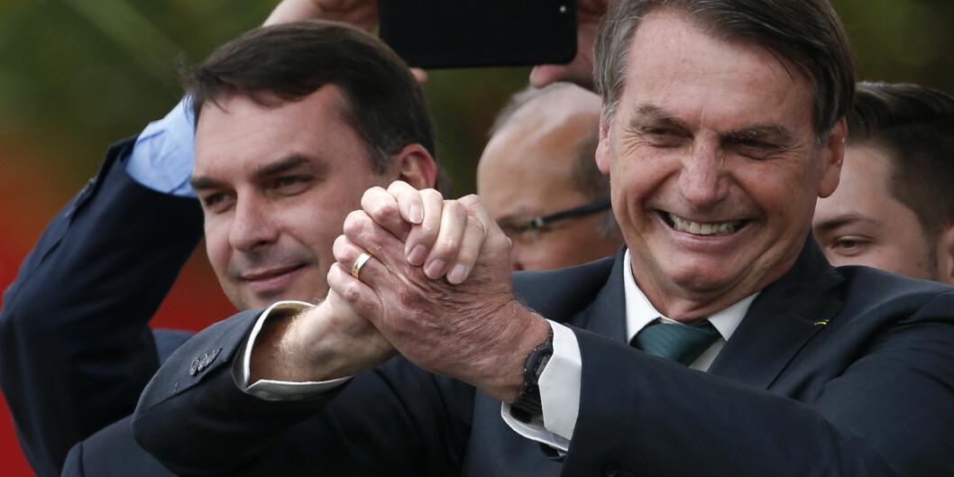 Brasils president Jair Bolsonaro har sparket akademikere og kuttet i «ulønnsomme» studier som de humanistiske, som bare «synser», skriver artikkelforfatter. Foto: Eraldo Peres / AP / NTB Scanpix