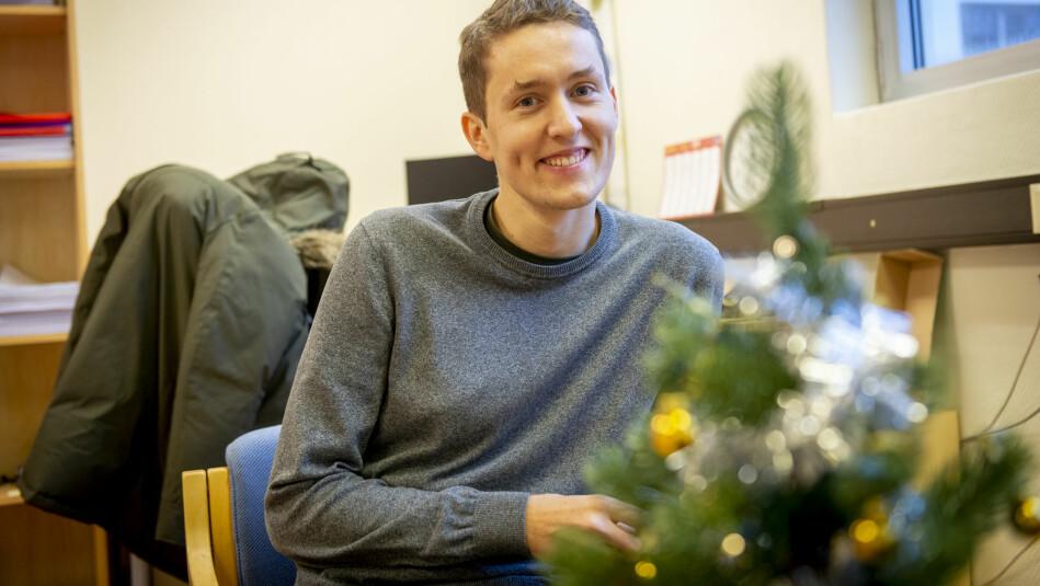 Ein kompis som studerte i Noreg sette Ondrej Osicka på ideen. No har tsjekkaren vore fire år i Noreg, først i Molde og no i Bergen og ph.d-program på NHH. Foto: Tor Farstad