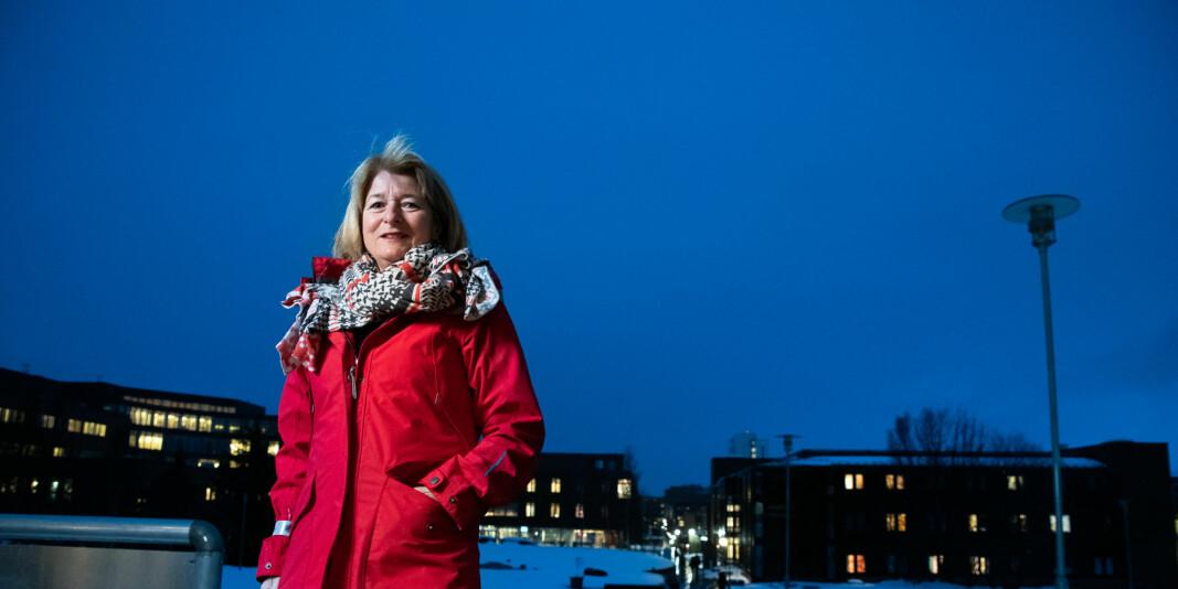 Rektor Anne Husebekk ved UiT mener lokale bedriftsledere har mye å tilføre universitetet, og vice versa.