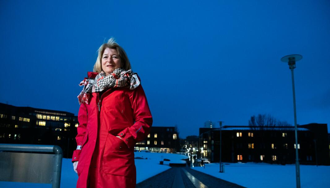 — Vi styrer mot at penger ikke må betales tilbake, sier rektor og styreleder Anne Husebekk ved UiT om den nye 5-prosents-regelen til Kunnskapsdepartementet.