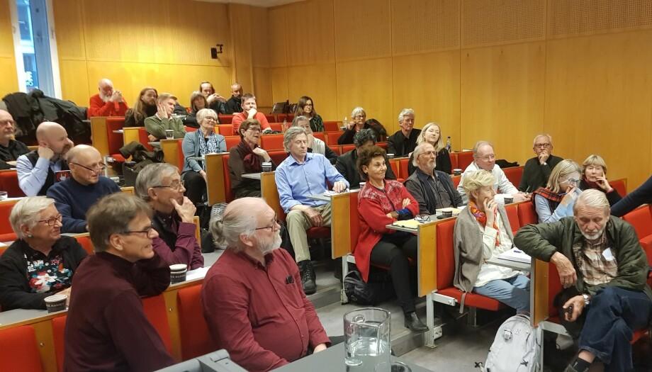 Konferanse om New Public Management og demokratisering trakk mange interesserte. Foto: Anders Breidlid