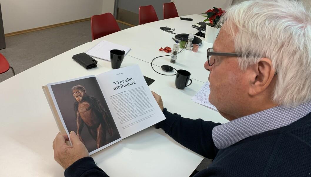 Tore Linné Eriksen. Foto: Eva Tønnessen
