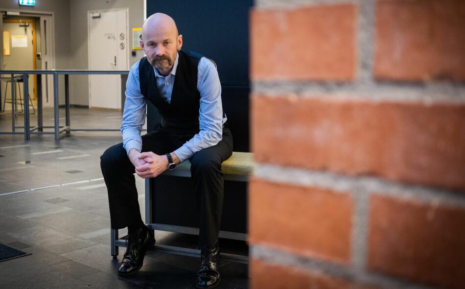 NTNU-professor Aksel Tjora er redaktør av den rykende ferske antologien «Universitetskamp». Foto: Torkjell Trædal