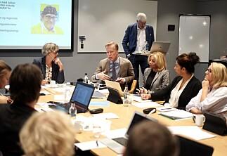 Rektor og Romerike på styremøte på OsloMet