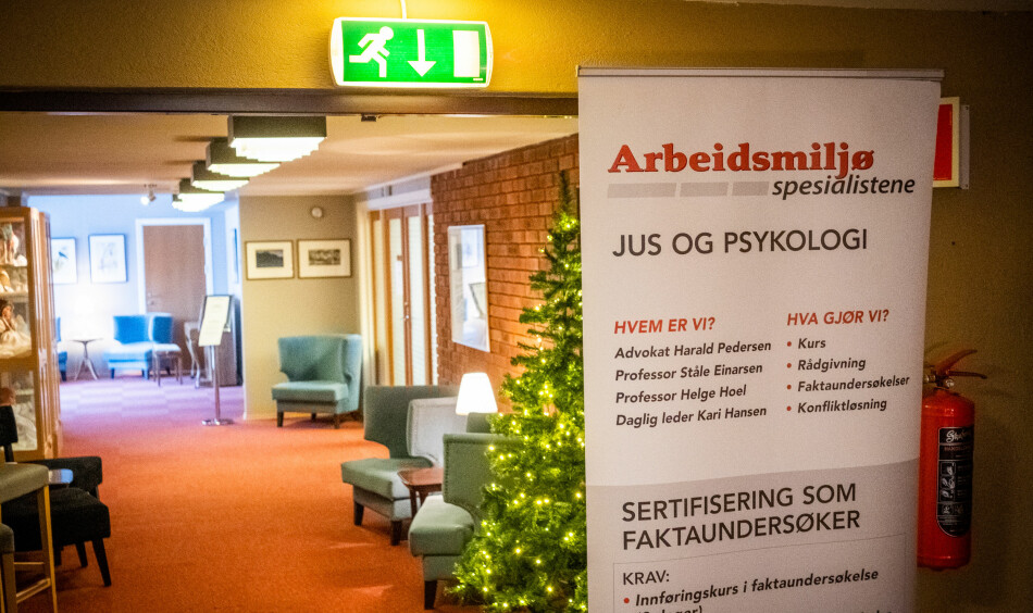 Arbeidsmiljøspesialistene ville ikke møte Khrono til intervju mens de holdt kurs på Hadeland hotell. Foto: Torkjell Trædal