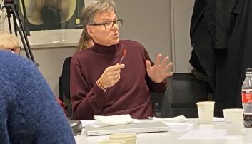 Einar Braathen fremmet forslag om omfordeling i budsjettet. Foto Hege Larsen