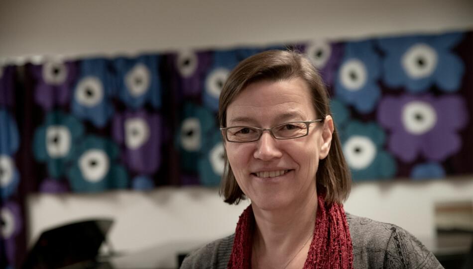 Hilde Blix gjorde et siderykk, fra dosent til professor ved Musikkonservatoriet i Tromsø. Foto: Lars Åke Andersen
