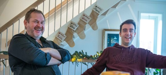 Stian (23) og Jon (57) er fagfeller:På vei fra utagerende autisme til doktorgrad