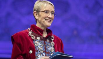 Anne Borg ved NTNU tener mindre enn forgjengaren sin, men er framleis i lønstoppen blant dei statlege rektorane. Foto: Thor Nielsen, NTNU